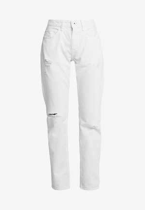 MABLE - Džíny Straight Fit - white denim