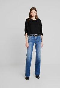Pepe Jeans - AUBREY - Flared Jeans - stone blue denim - 1