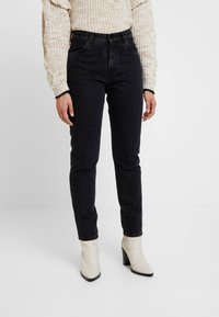 Pepe Jeans - ALLEN - Relaxed fit jeans - black denim - 0
