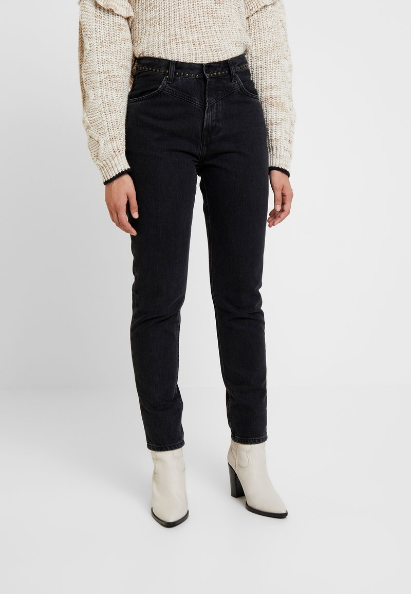 Pepe Jeans - ALLEN - Relaxed fit jeans - black denim