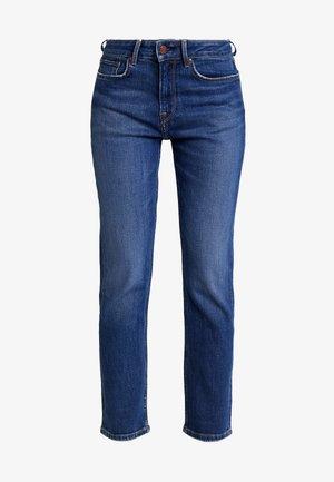 MARY - Jeans straight leg - dark blue denim