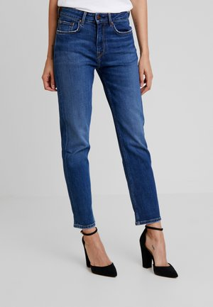 MARY - Jeans straight leg - dark blue denim