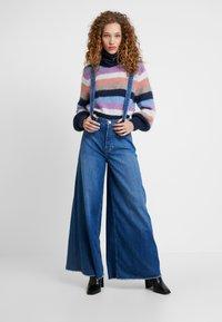 Pepe Jeans - DUA LIPA X PEPE JEANS - Široké džíny - blue denim - 1