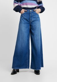 Pepe Jeans - DUA LIPA X PEPE JEANS - Široké džíny - blue denim - 3