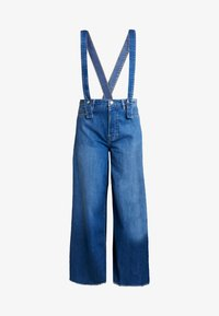 Pepe Jeans - DUA LIPA X PEPE JEANS - Široké džíny - blue denim - 4