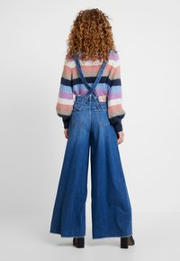 Pepe Jeans - DUA LIPA X PEPE JEANS - Široké džíny - blue denim - 2