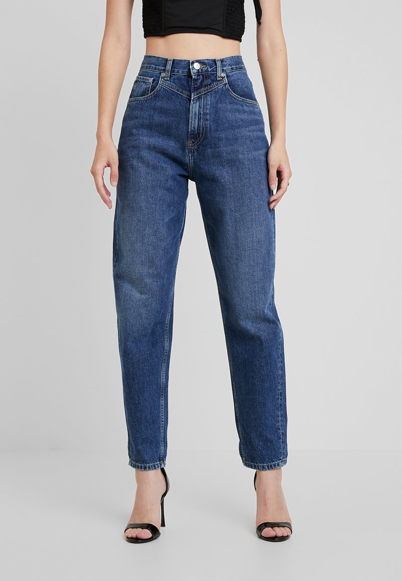 Pepe Jeans - DUA LIPA X PEPE JEANS - Džíny Relaxed Fit - blue denim