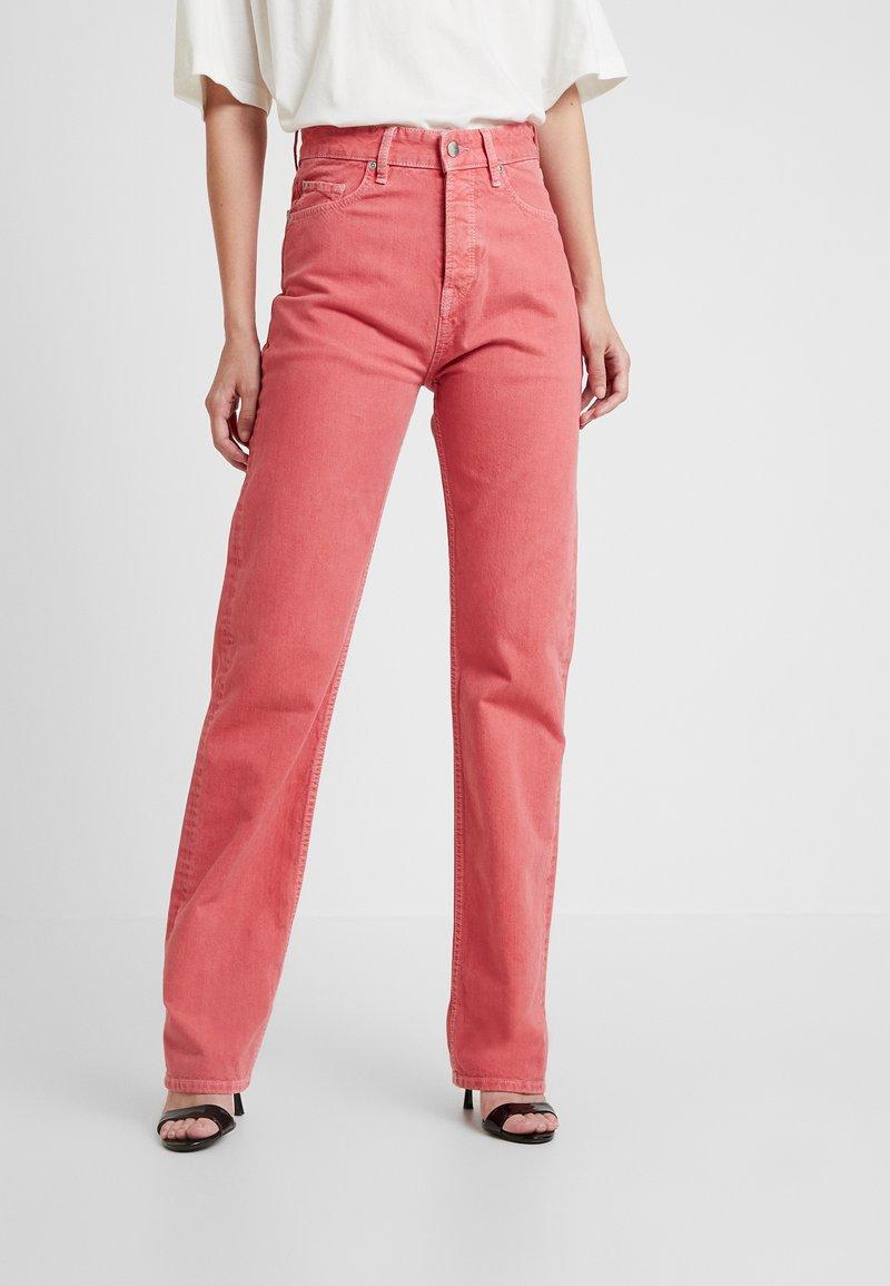 Pepe Jeans - DUA LIPA X PEPE JEANS - Straight leg jeans - pink