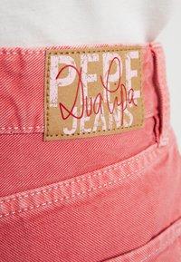 Pepe Jeans - DUA LIPA X PEPE JEANS - Jeansy Straight Leg - pink - 4