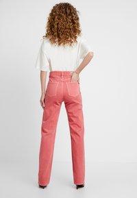 Pepe Jeans - DUA LIPA X PEPE JEANS - Straight leg jeans - pink - 2