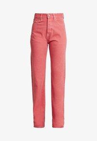 Pepe Jeans - DUA LIPA X PEPE JEANS - Straight leg jeans - pink - 3