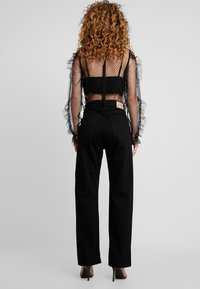 Pepe Jeans - DUA LIPA X PEPE JEANS - Džíny Straight Fit - black - 2