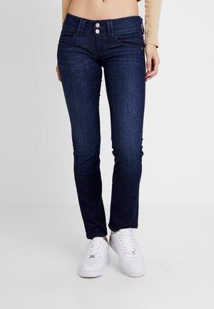 VENUS - Džíny Straight Fit - dark-blue denim