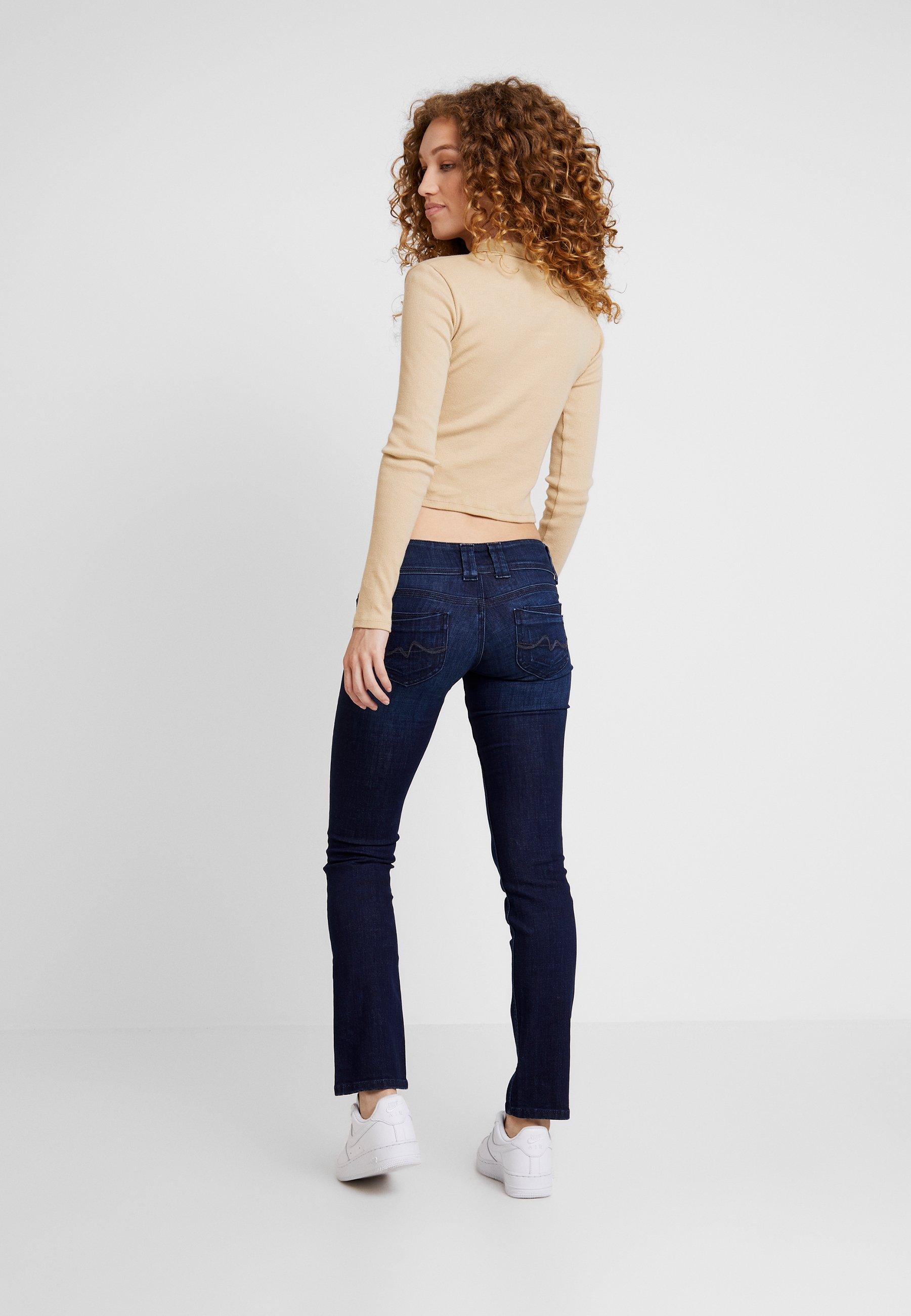 VenusJean blue Denim Jeans Pepe Droit Dark pqzMVjULSG