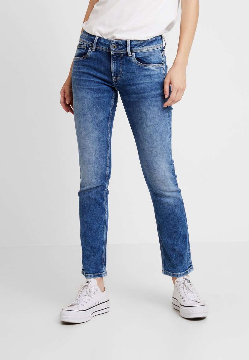 Pepe Jeans - HOLLY - Jeans straight leg - light used
