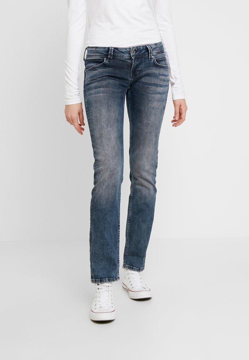 Pepe Jeans - KATI - Straight leg jeans - bluegrey used