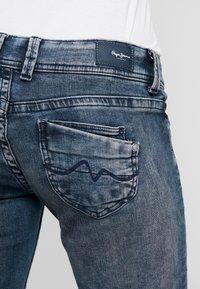 Pepe Jeans - KATI - Straight leg jeans - bluegrey used - 3
