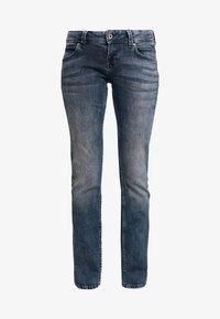 Pepe Jeans - KATI - Straight leg jeans - bluegrey used - 4