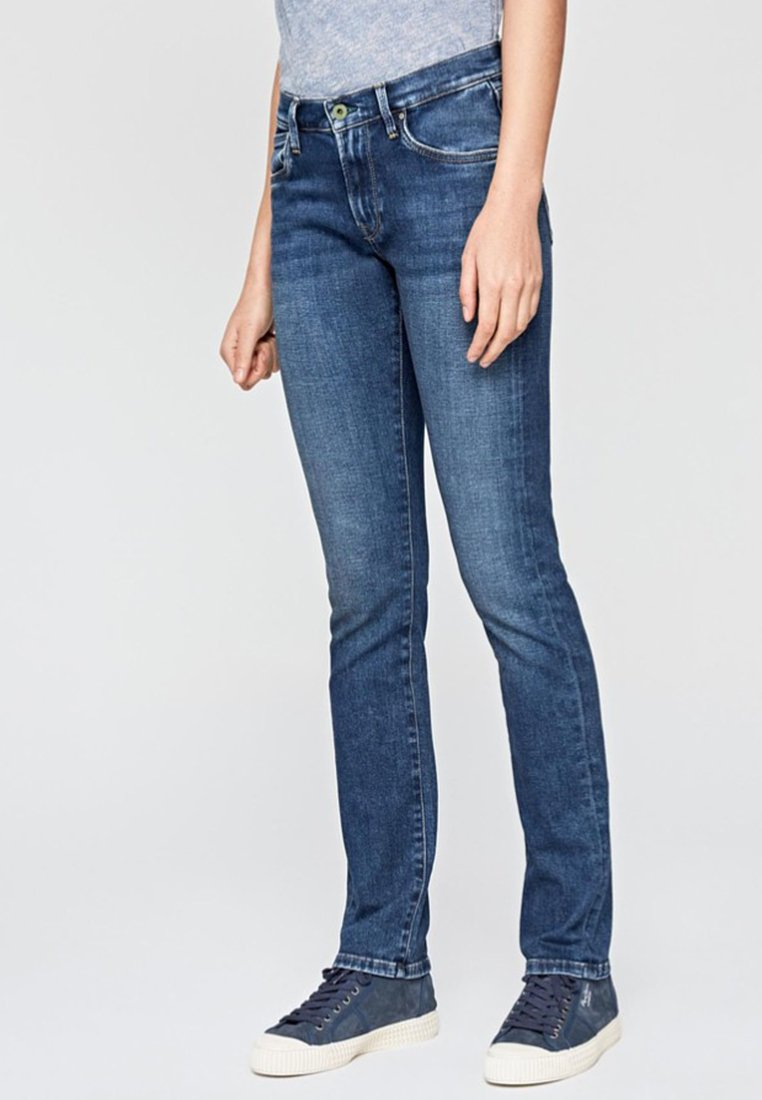 Pepe Jeans - VICTORIA - Slim fit jeans - blue denim