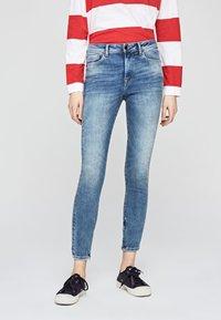 Pepe Jeans - HIGH - Jeans Skinny - blue denim - 0