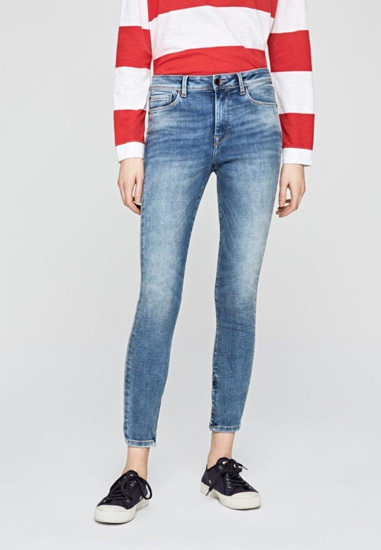 Pepe Jeans - HIGH - Jeans Skinny - blue denim