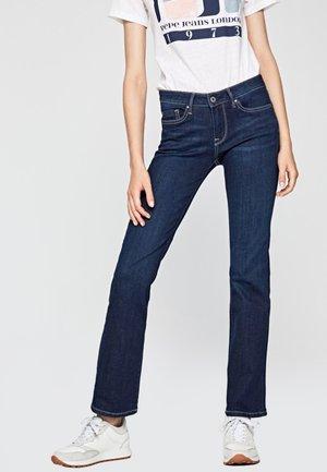Jean bootcut - blue denim