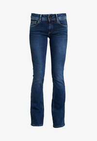 Pepe Jeans - NEW PIMLICO - Flared Jeans - blue denim - 4