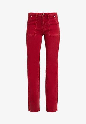 ERINA - Straight leg jeans - pillarbox red