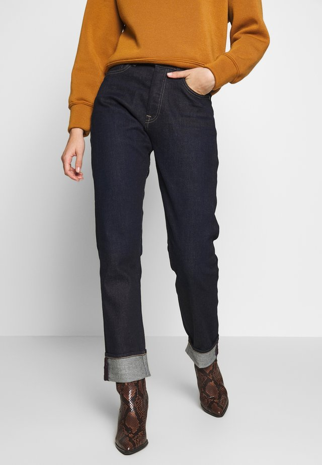 BRIGADE - Relaxed fit -farkut - rinsed denim