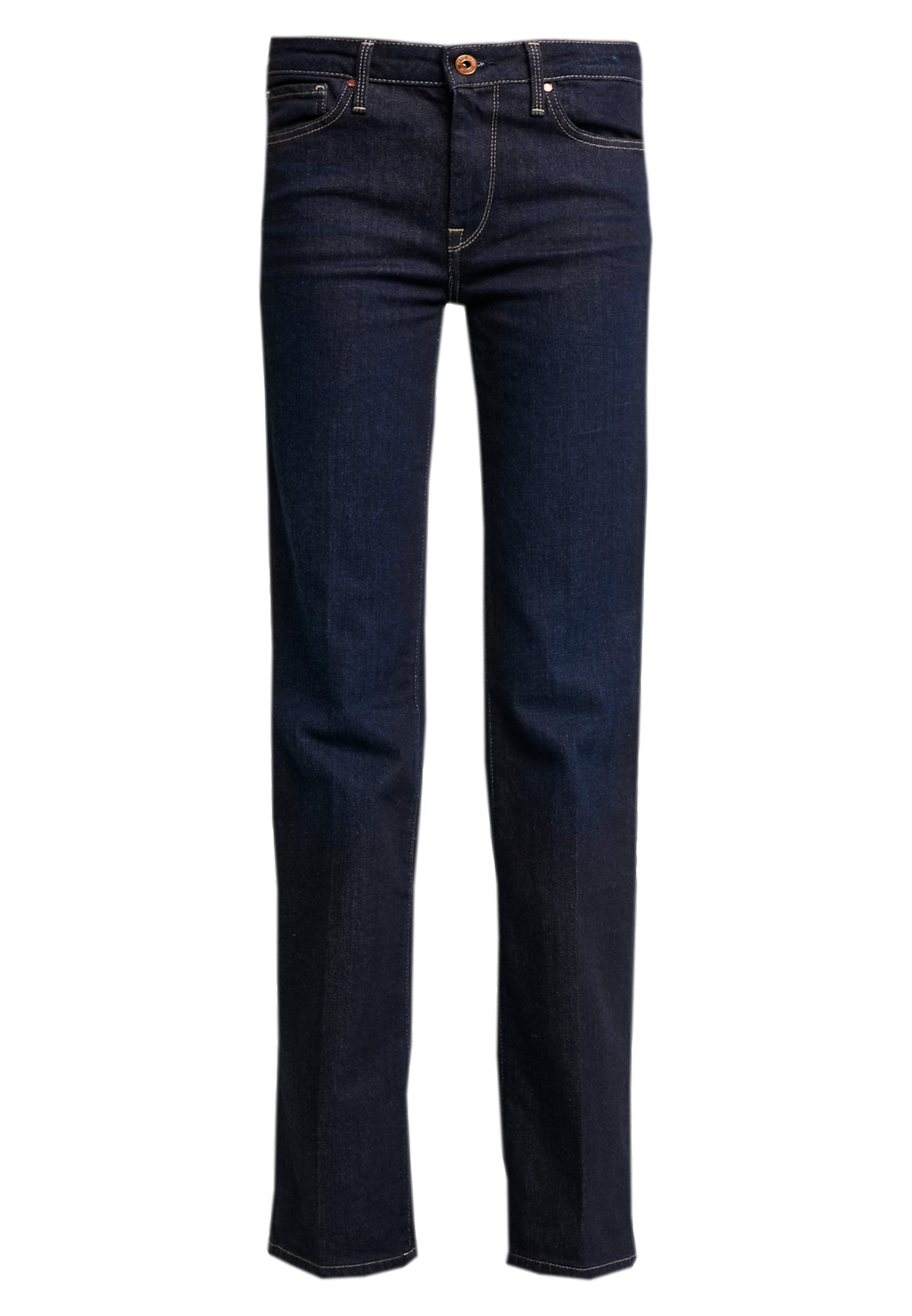 Pepe Jeans AUBREY - Jeansy Straight Leg - rinsed denim