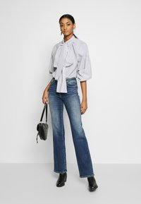 Pepe Jeans - AUBREY - Straight leg jeans - dark-blue denim - 1