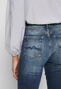 Pepe Jeans - AUBREY - Vaqueros rectos - dark-blue denim - 4