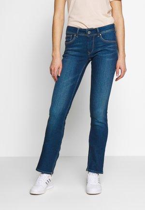 SATURN - Jeansy Straight Leg - denim