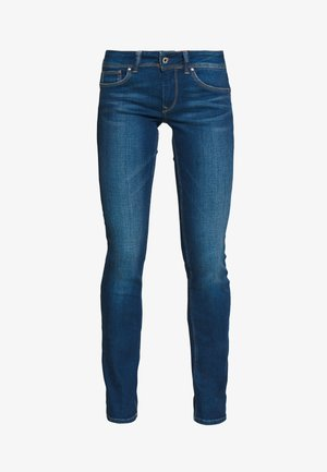 SATURN - Straight leg jeans - denim