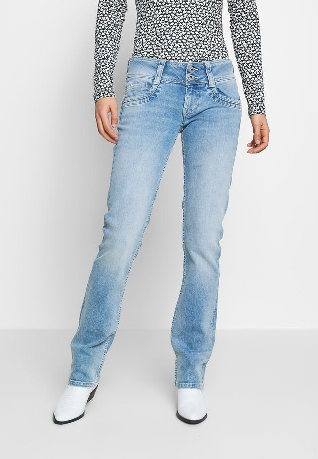 GEN - Jeans Straight Leg - ligjht blue denim