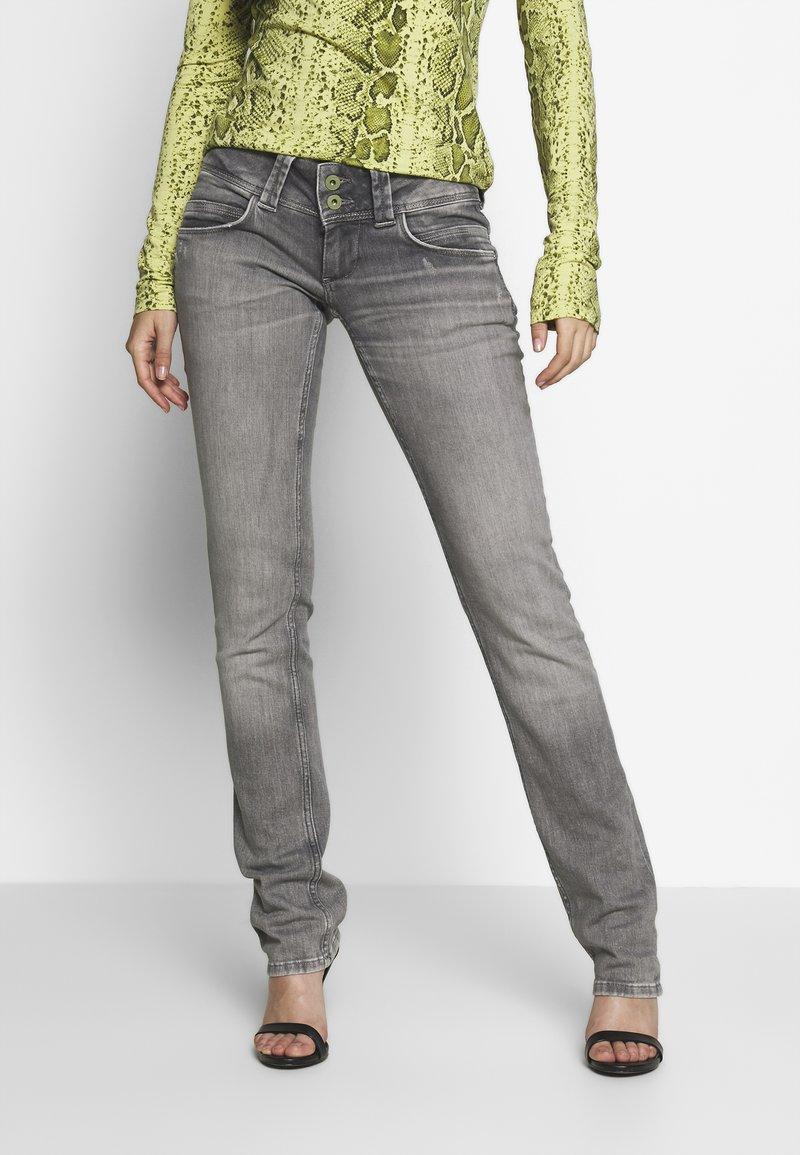 Pepe Jeans - VENUS - Straight leg jeans - grey denim
