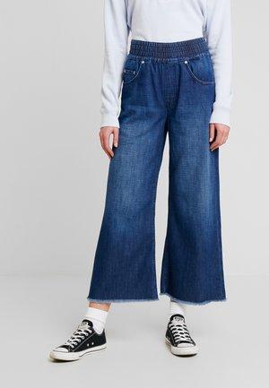 MARYLEE - Flared jeans - blue denim