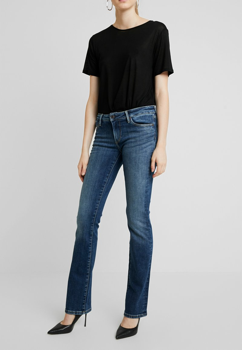 Pepe Jeans - PICCADILLY - Bootcut jeans - denim