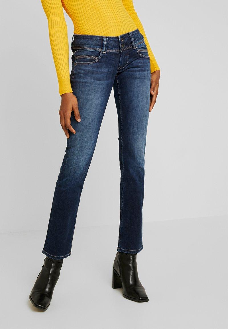 Pepe Jeans - VENUS - Džíny Straight Fit - denim
