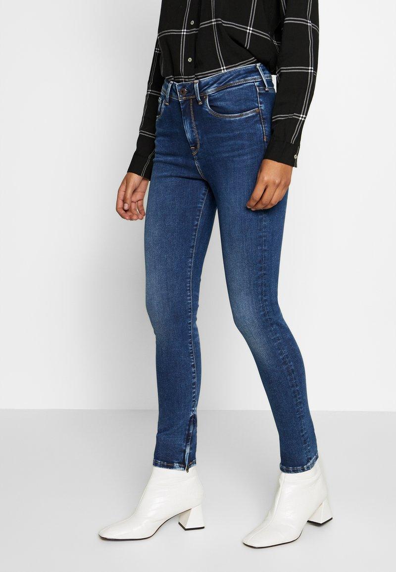 Pepe Jeans - Jeansy Skinny Fit - dark-blue denim