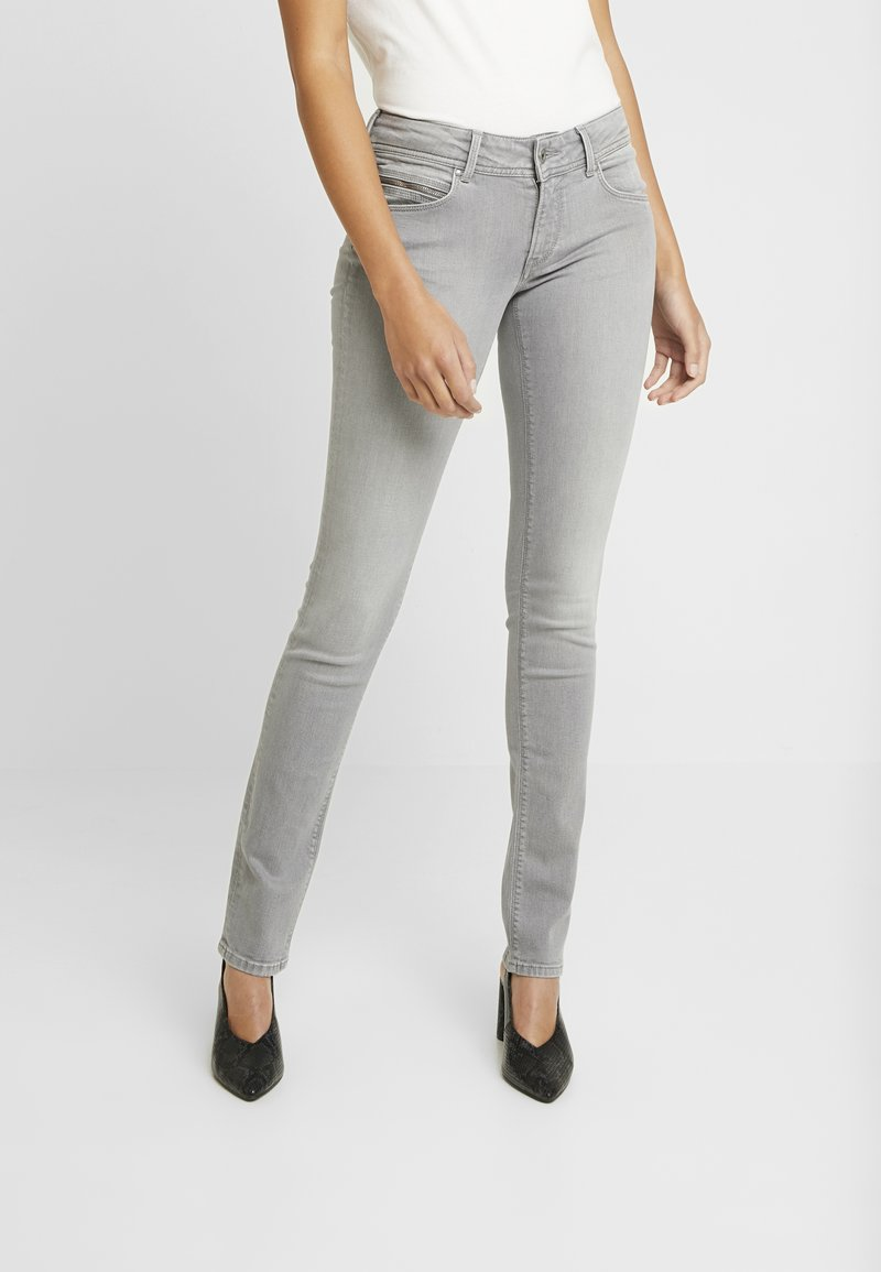 Pepe Jeans - KATHA - Jean slim - grey denim