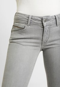 Pepe Jeans - KATHA - Slim fit jeans - grey denim - 3
