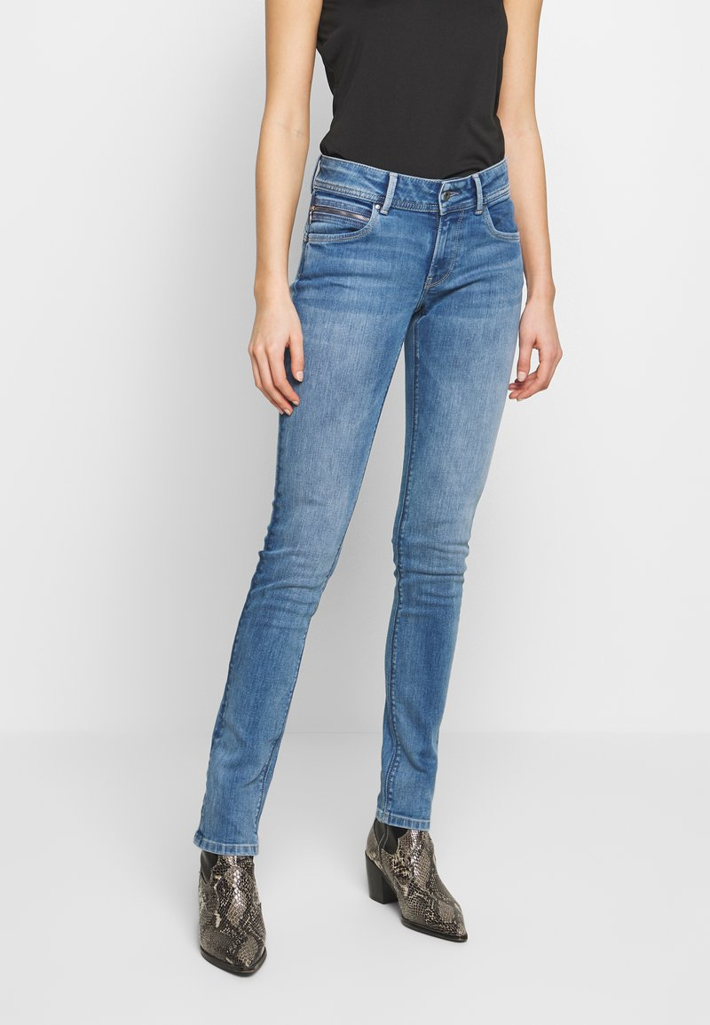 Pepe Jeans - KATHA - Vaqueros slim fit - blue denim