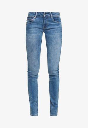 KATHA - Jeans slim fit - blue denim