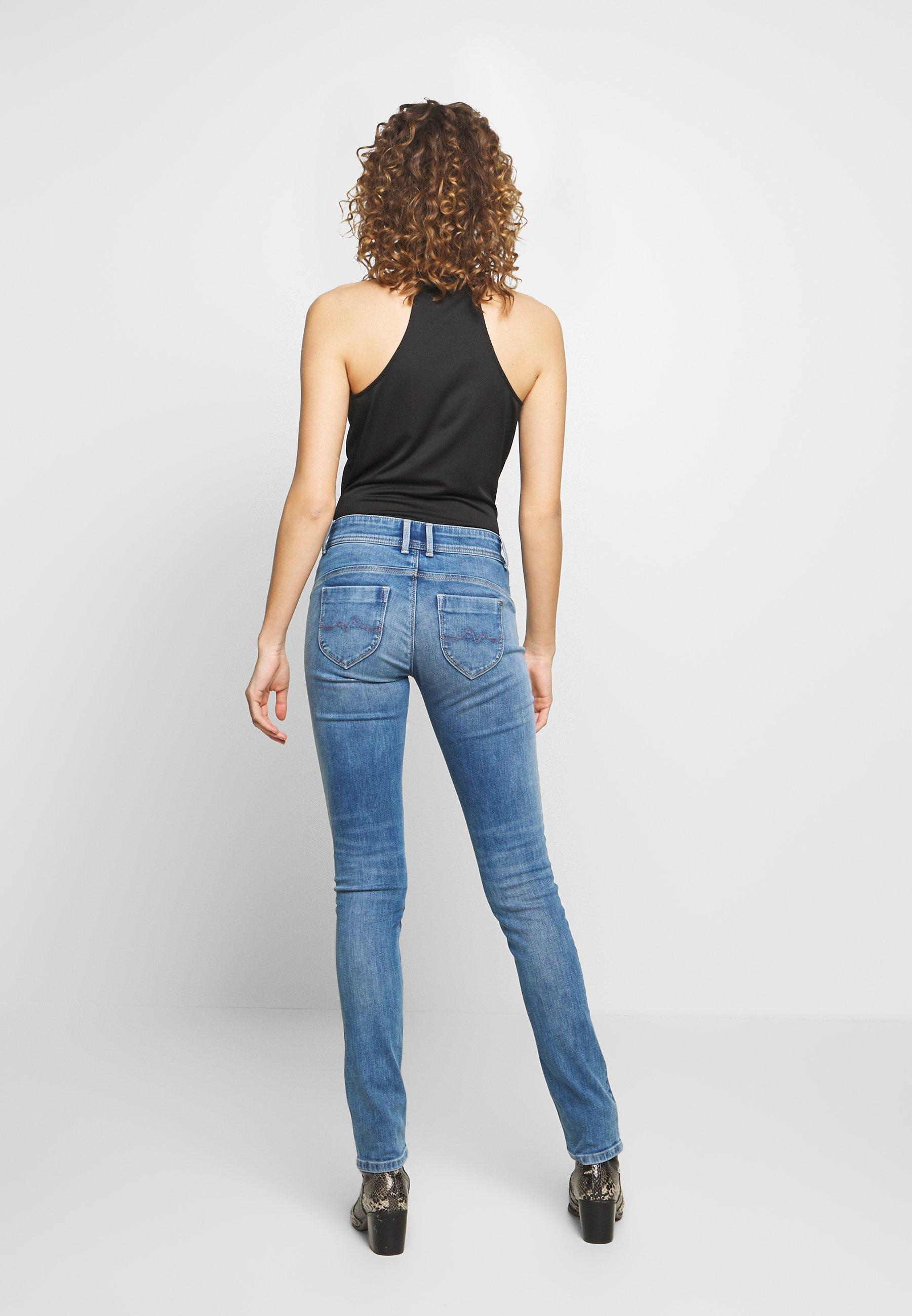 Pepe Jeans Katha - Slim Fit -farkut Blue Denim