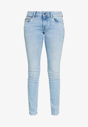 KATHA - Džíny Slim Fit - light-blue denim