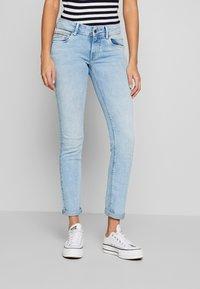 Pepe Jeans - KATHA - Slim fit jeans - light-blue denim - 0