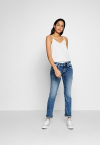 Pepe Jeans - HOLLY - Straight leg jeans - stone blue denim - 1