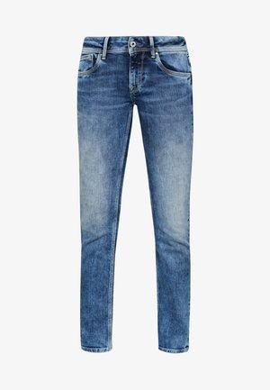 HOLLY - Jeansy Straight Leg - stone blue denim