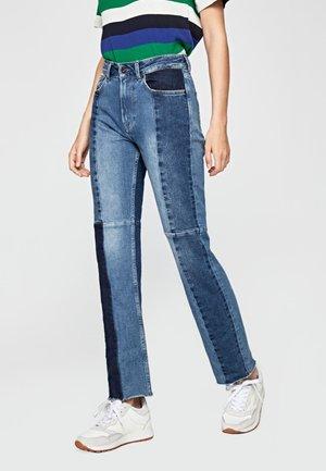 HARPER - Jeans a sigaretta - blue denim